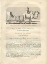 Voyage dans l'Asie Centrale Asia mangeurs d'opium Judaica décapitation 1873