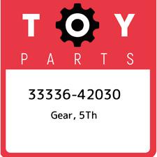 33336-42030 Toyota Gear, 5th 3333642030, New Genuine OEM Part