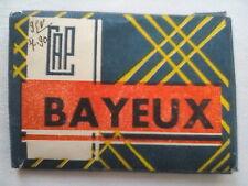 BAYEUX NORMANDY FRANCE.MINI PHOTOGRAPH SET,10 DELUX,1930-40 ?.MAISON ST MARTIN