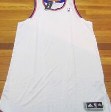 ADIDAS NBA REVOLUTION 30 NEW YORK KNICKS WHITE AUTHENTIC BLANK JERSEY 3XL+4