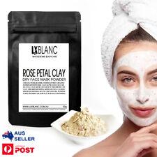 Rose Petal Clay Dry Face Mask | Australian Made |  Bentonite | Multiple Use |