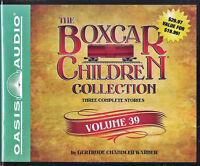 NEW The Boxcar Children Collection Volume 39 Gertrude Chandler Warner Audio Book