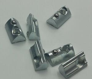 Nutenstein Nut 6 M6 Item kompatibel, Gleitstein für Aluprofil, versandkostenfrei