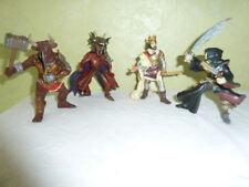 Figurine  PAPO Lot de 4 roi minotaure squelette