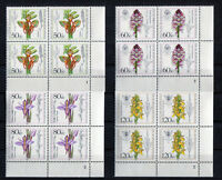 Bund 1225 - 1228 VB Eckrand Viererblock postfrisch alle m.Formnummer FN Ecke 4