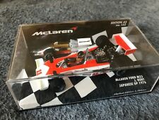 1/43 Minichamps 530764391 James Hunt McLaren Ford M23 #133 Japanese GP 1976