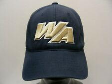 WA LOGO - HOOPS - MED/LG SIZE STRETCH FIT BALL CAP HAT!