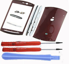 Case Fascia Housing Bezel Keypad Fits S.E Xperia Neo MT11i MT15i  Red Tools