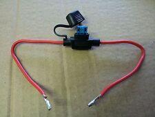 3 X fusible en línea de 15 AMP Impermeable para Coche Bote Bicicleta BUGGY QUAD Radio GPS 12V 24V