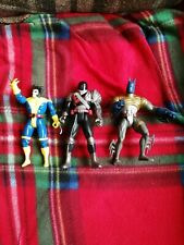 3 Superhero Figures