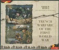 saint vincent CANOUAN ca 2014 World War I Trench Warfare soldier military ms2v