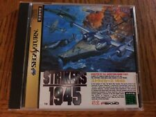 Strikers 1945 (Sega Saturn Game) Japan Import Shooter CIB