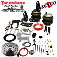 Firestone 2400 Ride Rite Air Bags AirLift HD Compressor 05-07 Ford F250 F350 4WD