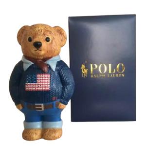 POLO Ralph Lauren PROMOPOLO bear figure not for sale LIMITED 12 cm x 7 cm