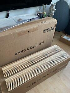 Bang & Olufsen B&O BeoLab 18 speaker Fret in Maple - Original B&O Box!