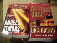 Angels & Demons + The Da Vinci Code by Dan Brown   (r)