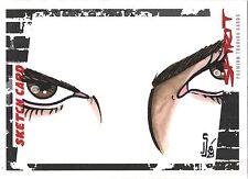 The Spirit Movie SK14 Jamie Snell Sketch Card