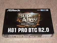 ASRock H81 Pro BTC R2.0 Motherboard LGA 1150 R2 bitcoin ethereum dash mining rig