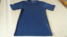 Easton Youth Kids Boys Baseball Medium- Short Sleeve Base Layer Shirt -Navy Blue