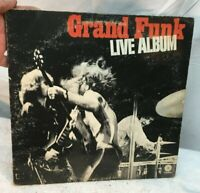 Grand Funk Railroad Live Album 2 LP Very Good + Free Shipping