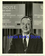 """John Daly Promotional Photograph """"Election Night Anchor & Coverage"""" ABC-TV 1958"""