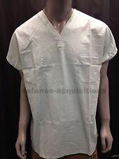 NEW Mens Surgical Scrubs Top Operating Shirt V Neck - Size Medium