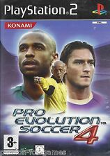 PRO EVOLUTION SOCCER PES 4 for Playstation 2 PS2 - with box & manual