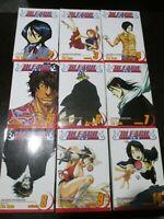 BLEACH Tite Kubo:Shonen Jump - Lot of 9 (2-9, 14) Manga Books