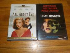 Dead Ringer / All About Eve Dvd Lot New Bette Davis Peter Lawford Anne Baxter