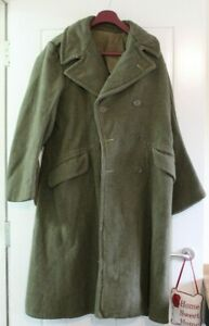 Vintage WW11 greatcoat from 1945 Dismounted Greatcoats British Army WW2 WW Two