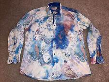 Claudio Lugli Shirt mens size XXXL Paisley