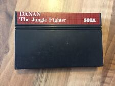 "MASTER SYSTEM:      DANAN ""The Jungle Fighter"""
