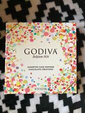 NEW Limited Edition Godiva Assorted Cake Chocolate Truffles 3.8oz EXP:03/2021