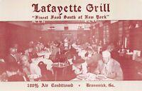 Postcard Lafayette Grill Restaurant in Brunswick, Georgia~125475