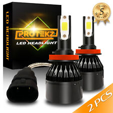 H11 H9 H8 LED Headlight Kit Plug&Play COB CREE Waterproof 60W 12000LM 6000K