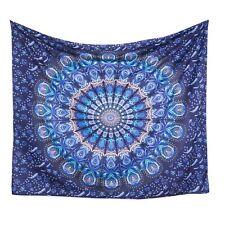 Indian New Handmade Mandala Wall Hanging Cotton Tapestry Bedspread Blanket Beach