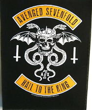 """Avenged Sevenfold schiena ricamate/Back Patch # 5 """"Hail to the King"""""""