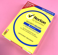 Norton Internet Security Deluxe Antivirus for 5 Device -Win Mac Android iOS#3555
