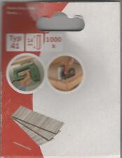 Tacker NÄGEL Typ 41 ,14 mm  -1000 Stück  für Bosch ,ESCO ,KWB