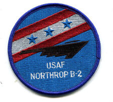 US Air Force Northrop B-2 Stealth Bomber Patch Kosovo Iraq Afghanistan