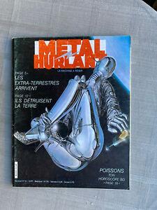 METAL HURLANT N°72 1982 ÉTAT CORRECT