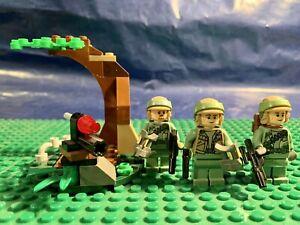 Lego Star Wars Figuren Endor Rebell Trooper Rebellen Wie 9489