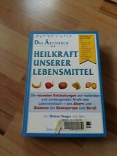 Das Ärztebuch der Heilkraft unserer Lebensmittel wie abgebildet 620 Seiten