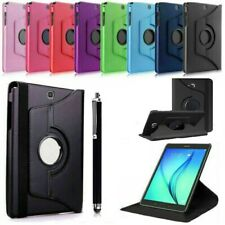 "For Samsung Tab A 9.7"" SM-T550/551/555  360 Rotating Leather Smart Case Cover"