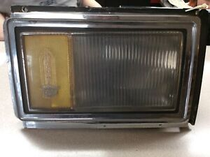 Cadillac Brougham Left Front Turn Light, 1978-1979