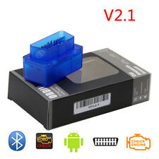 Mini OBD2 Bluetooth Diagnostic  Scanner Code Reader Compatible  Android Windows