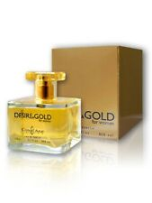 Cote 'd Azur Desire & Gold 100ml EAU de Parfum for woman NEW