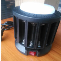 KENTLI 16-slot high-power lithium battery AA / AAA  charger emergency light
