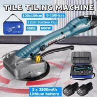 12V 40KG Handheld Electric Tile Vibrator Automatic Leveling Machine Dual Li-ion
