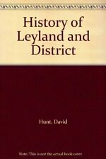 History of Leyland and District by Hunt, David Paperback Book The Cheap Fast